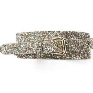 GAP Glitter Belt in Gold Women S